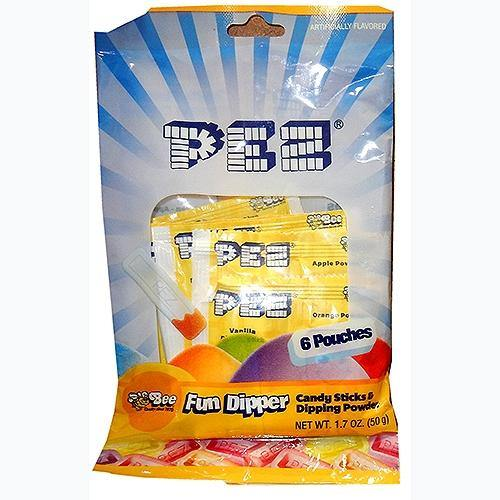 Pez Dippers new candy fun