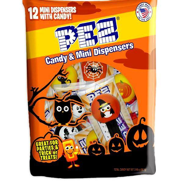 Pez Halloween Party Pack - 12 piece bag
