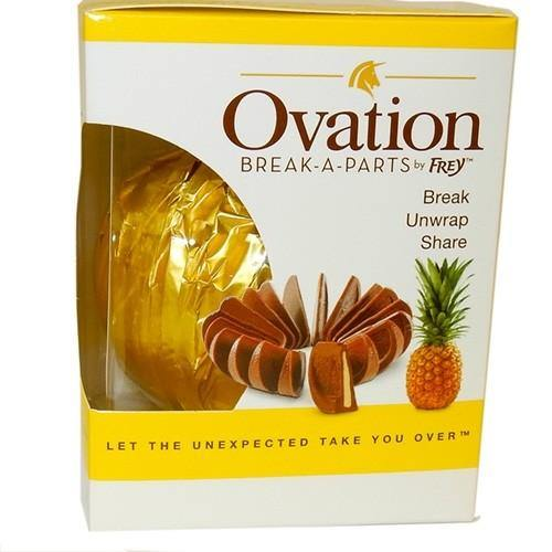 Creme de Pineapple and Milk Chocolate Break apart Orange