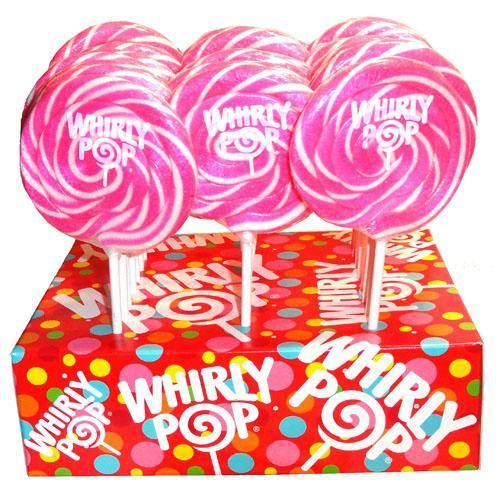 pink whirly pops