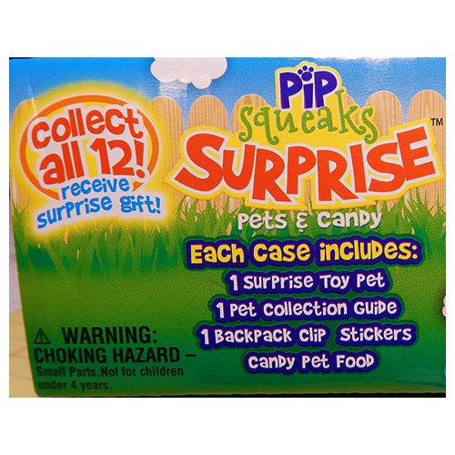 Pip Squeaks Surprise Pets and Candy - 15ct