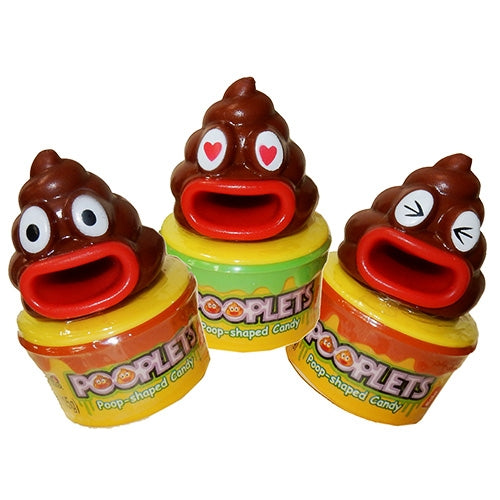 Pooplets Poop Shaped Candy- 12ct box