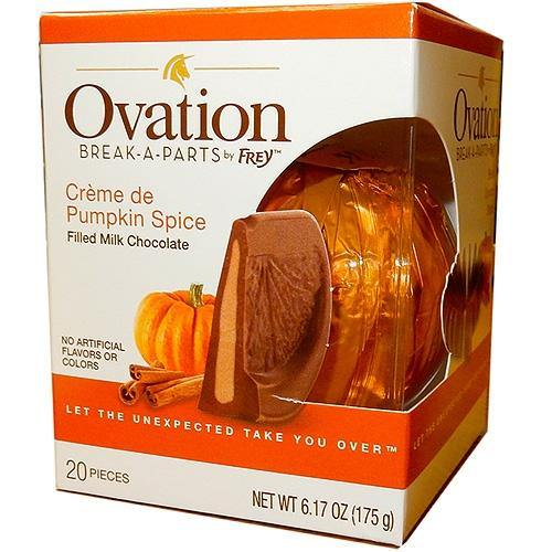 Chocolate and Pumpkin Spice Break apart Orange