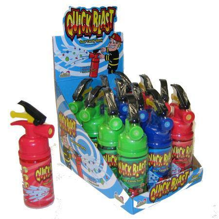 quick blast fire extinguisher with candy
