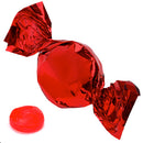 red foil wrapped hard candy