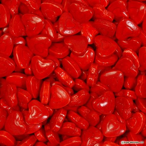 red hearts pressed candy bulk