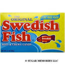 red swedish fish theater box
