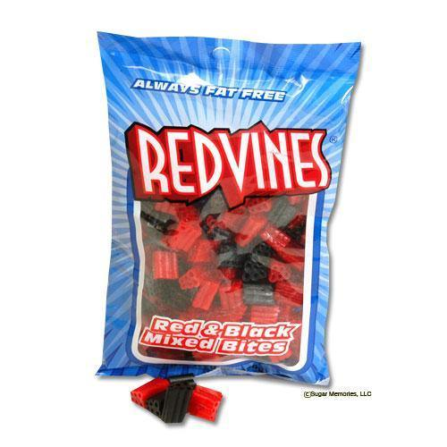 red vines mixed bites licorice