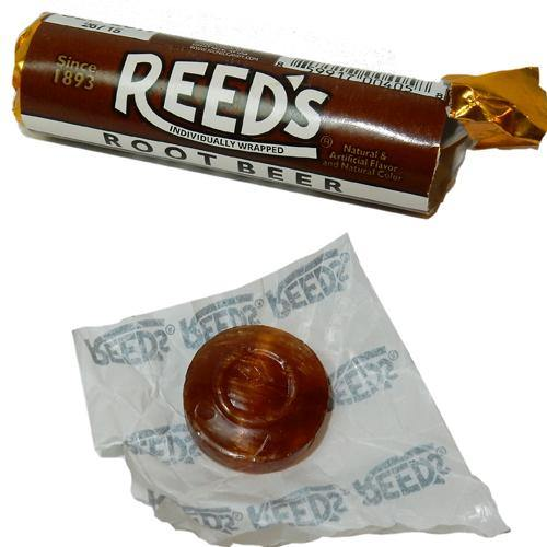 Reeds Rootbeer Rolls Retro Candy