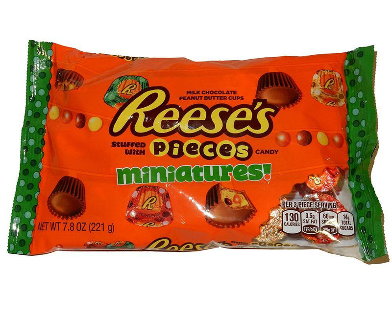 Reese's Stuffed With Pieces Miniatures - 7.8 oz bag