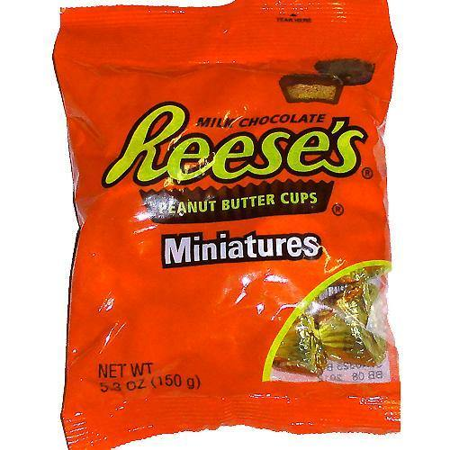 reeses cup mini size bags