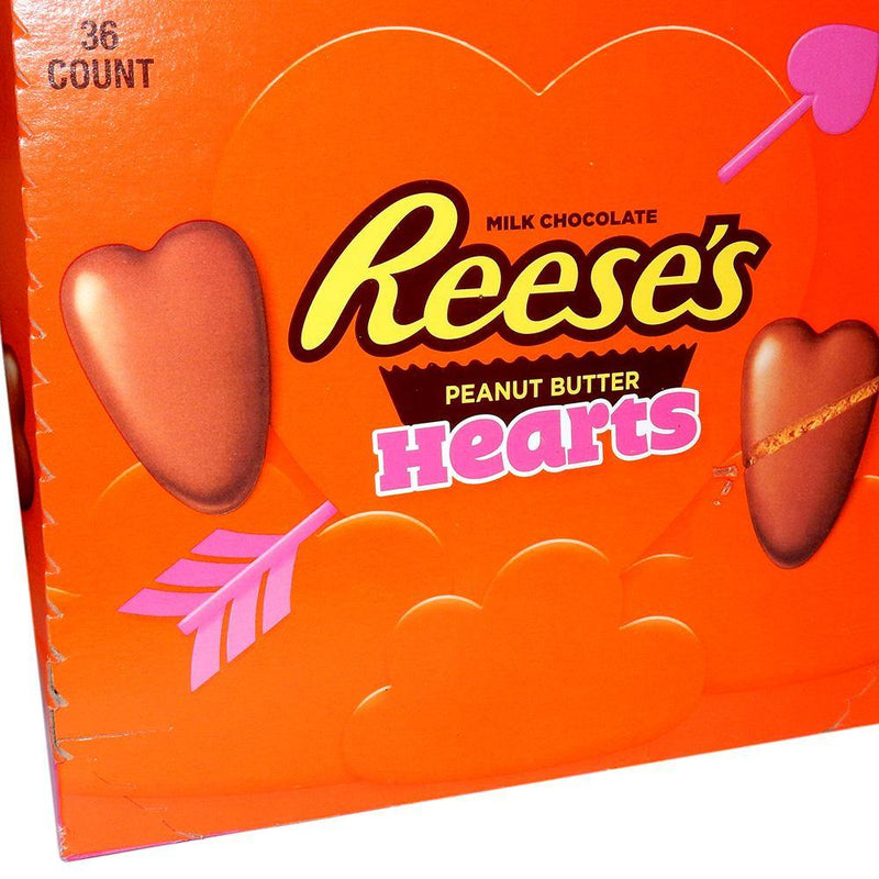 Reese's Peanut Butter Hearts full box
