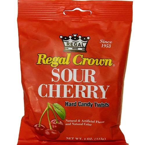 Regal Sour Cherry Retro Candy