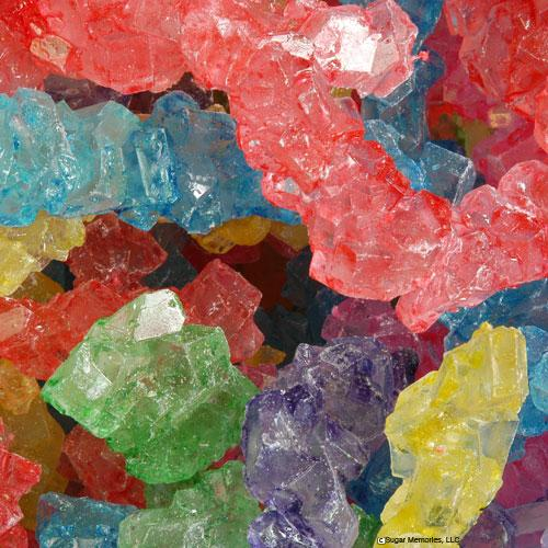 rock candy strings assorted colors bulk