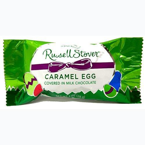 Russell Stover Milk Chocolate Caramel Egg