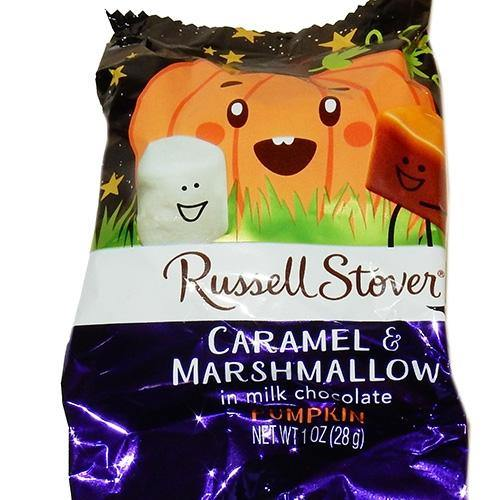 Russell Stover Marshmallow and Caramel Pumpkins