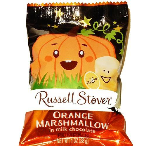 Russell Stover Orange Marshmallow Pumpkins
