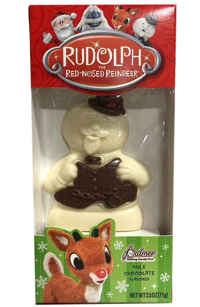 Rudolph and Pals snowman Christmas Candy