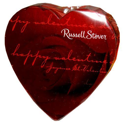 russell stover photo heart