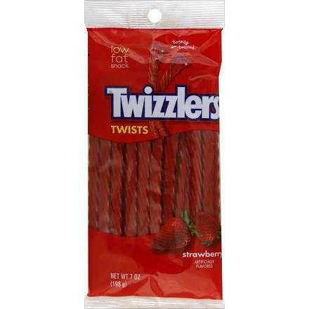 Twizzlers Twists Strawberry Licorice