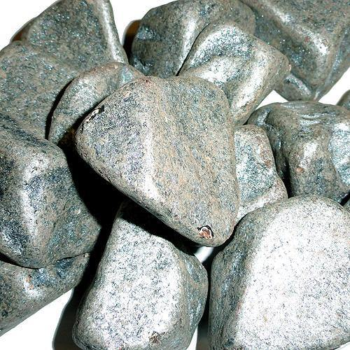 silver color chocolate boulders