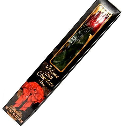 Chocolate Rose in Red foil and Gift Box