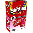 Skittles candy and stickers Valentine Treats 25ct box