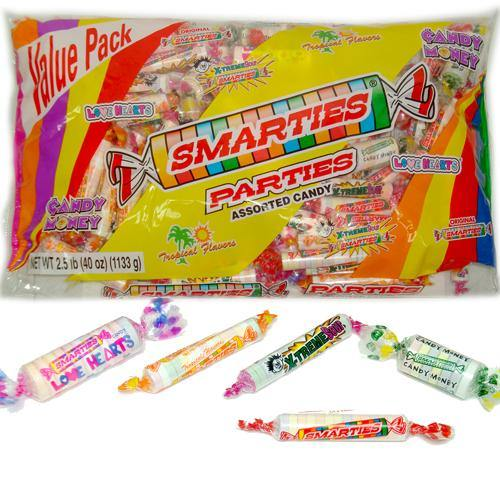 smarties parties halloween candy