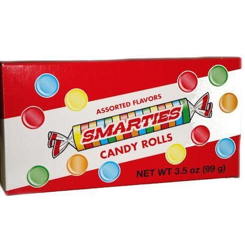 smarties theater box