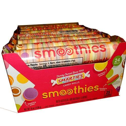 Smarties Smoothies Candy Rolls