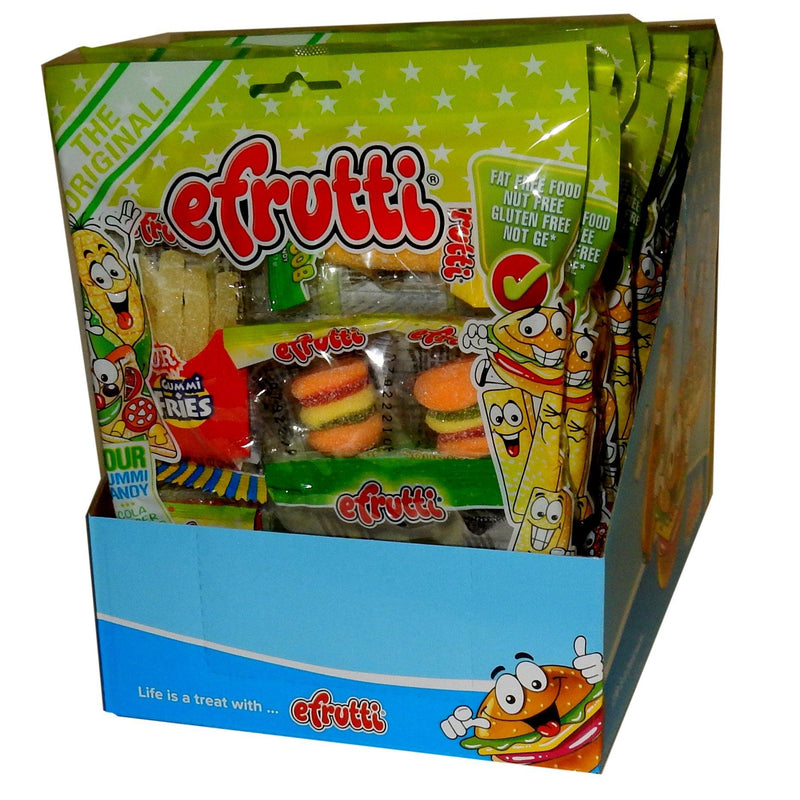 Gummi E Frutti Sour Lunch Bags