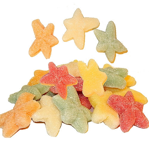 Tropical starfish sour gummi candy