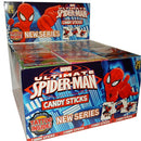 Spiderman Candy Sticks with Tattoos