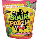 Watermelon Sour Patch Kids in a large resealable Bag