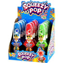 Mr. Squeezy Pop Candy and Toy 12ct box