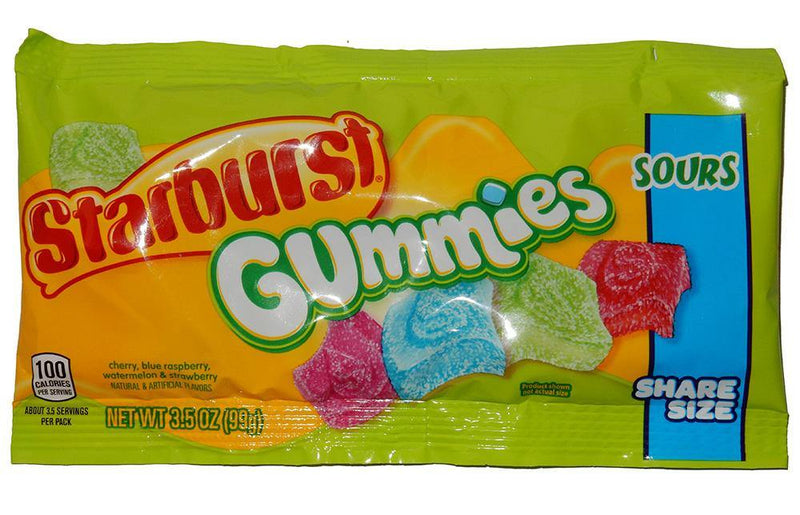 Starburst Gummies Sours Share Size Bag