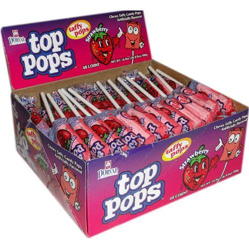 strawberry top pops
