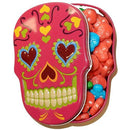 Sugar Skulls Candy pink tin