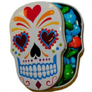 Sugar Skulls Candy white tin