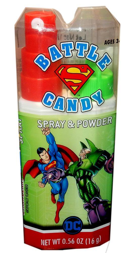 Superman Candy Spray and Powder