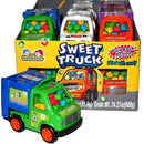 sweet trucks with candy