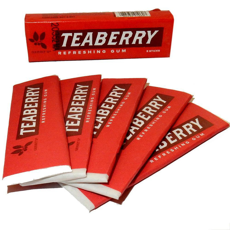 Teaberry Gum 5 pack