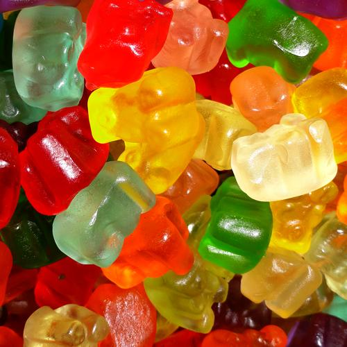 tiny gummi bear cubs