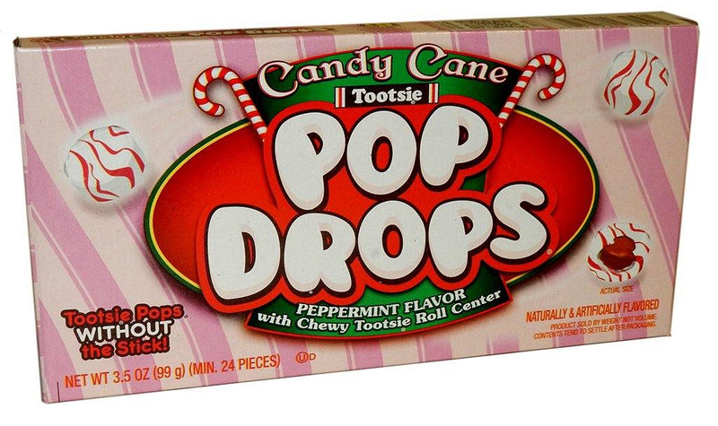 Candy Cane Pop Drops