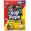 Strawberry-Lemon Top Pops candy