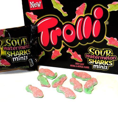 Trolli Sour Watermelon Sharks