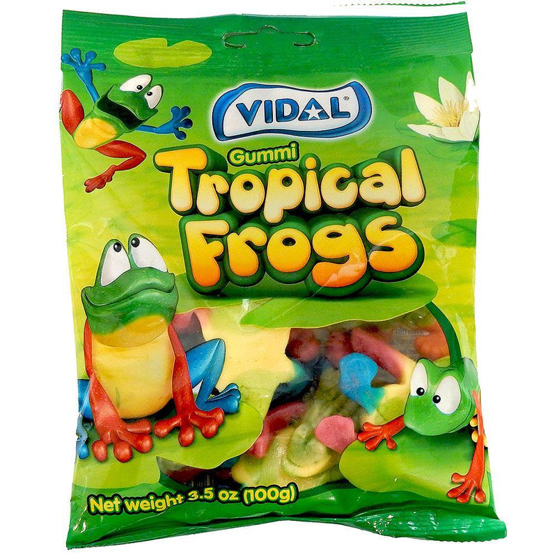 Tropical Frogs Gummi Candy