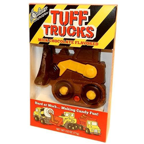 Tuff Trucks milk chocolate treat