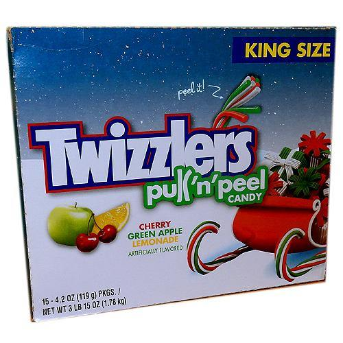 Twizzlers Pull 'n' Peel Holiday Candy