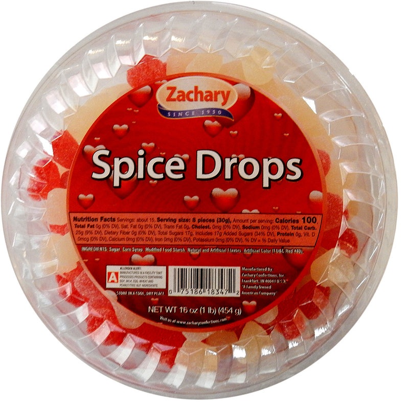 Red and White Spice Drops